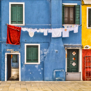 15_Burano Red Series #2, Italy