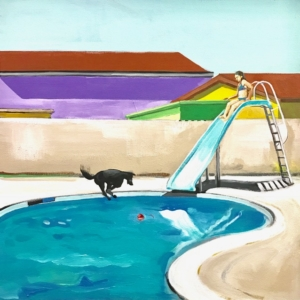 Carmen Smith Pool Day 20x20