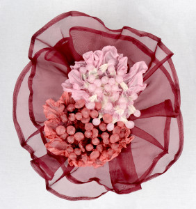 Erin Basset Anemone in Red and Pink 12x12