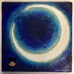 SOLD Harmony Jones Moon Shadow 1 12x12