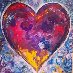 SOLD Lori Samuels Sea of Love 12x12